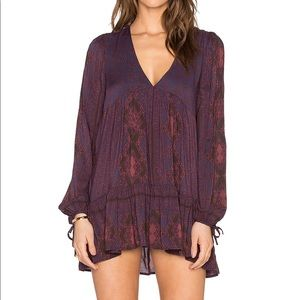 Free People Down By The Bay Tunic Dress
